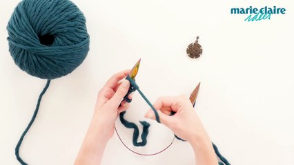 DIY mode  tricoter un bonnet XXL sur Orange Vidéos 71518c46fc6