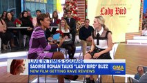 Saoirse Ronan says first-time movie director Greta Gerwig was born to do 'Lady Bird'