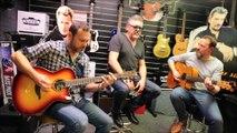 Trois musiciens de Sarreguemines rendent hommage à Johnny Hallyday