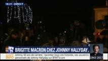 De plus en plus de personnalités et de fans pour rendre hommage à Johnny à Marnes-la-Coquette