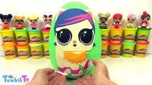 LOL Pets Sürpriz Yumurta Oyun Hamuru - Tsum Tsum MLP