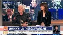 Mort de Johnny Hallyday: les hommages de Hugues Aufray, Gilles Lhotte, Alain Grasset et Candice Mahout