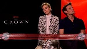The Crown Season 2 - Vanessa Kirby and Matt Smith Interview