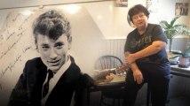 """A Malakoff, dans un bar dédié à Johnny : """"J'aurai encore besoin de lui pour vivre"""""""