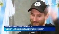 Messi traite son fils de fils de p***