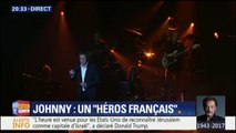 """Julien Clerc chante """"Quelque chose de Tennessee"""" en concert pour rendre hommage à Johnny"""