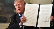 Trump'ın Kudüs'ü Başkent Olarak Tanıma Kararına, Dünyadan Tepki Yağdı