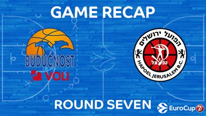 7DAYS EuroCup Highlights Regular Season, Round 7: Buducnost 92-75 Jerusalem
