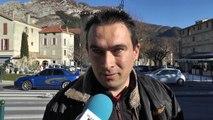 Alpes de Haute Provence : Réactions à Sisteron après la mort de Johnny Hallyday