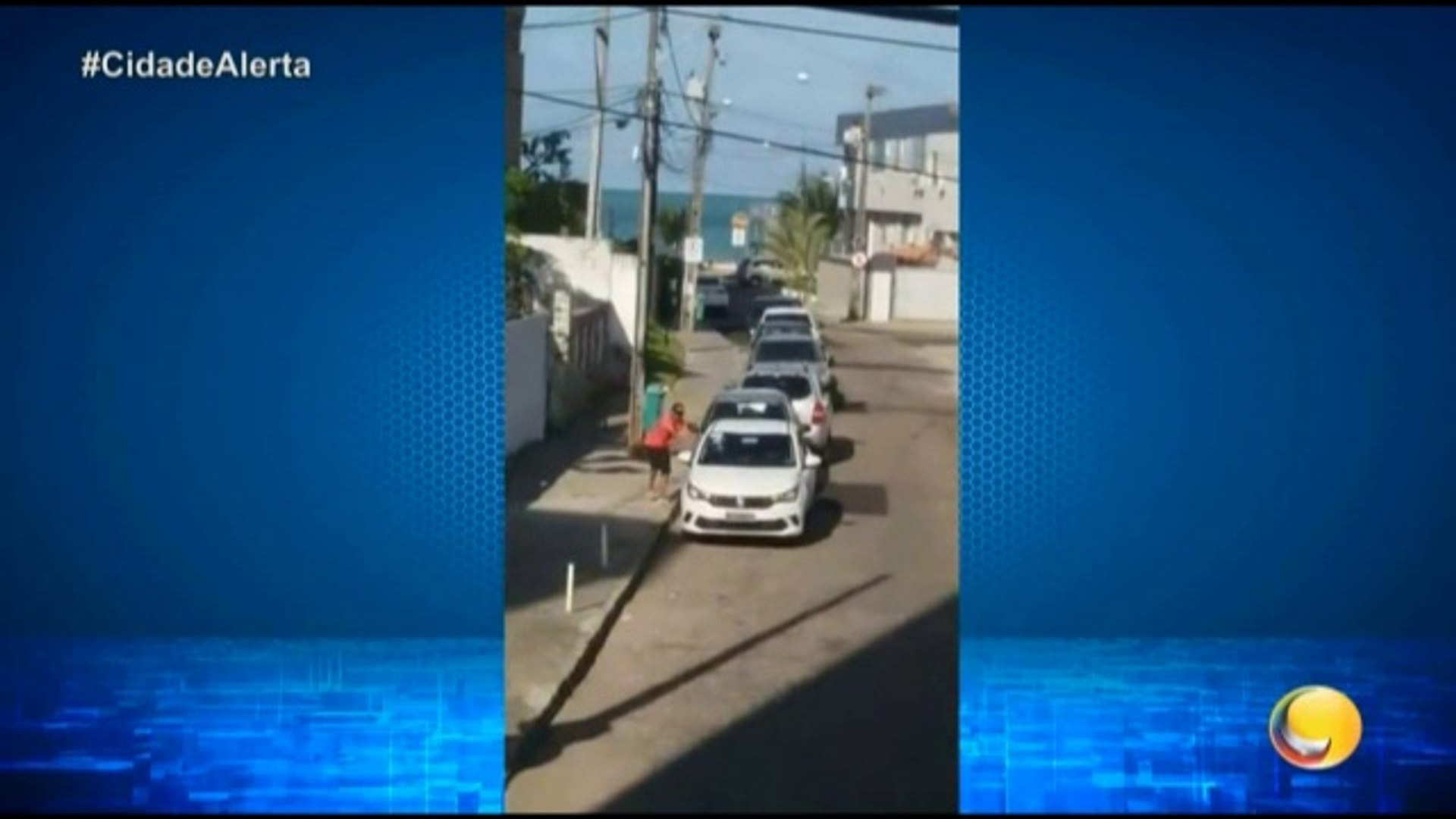 Cidade Alerta Paraíba - Repórter Emerson Machado voltou ao local onde um carro foi furtado no bairro