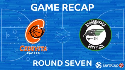 7DAYS EuroCup Highlights Regular Season, Round 7: Cedevita 89-83 Darussafaka