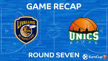 7DAYS EuroCup Highlights Regular Season, Round 7: Levallois 68-77 UNICS