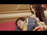 """مشهد رومانسي رائع بين """" باسم سمرة """" وزوجته """" روجينا """" فى أولى حلقات """" بين السرايات """""""