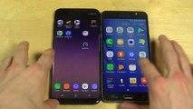 Samsung Galaxy S8 Plus vs. Samsung Galaxy J7 - Which Is Faster-QWKoIPagfcU