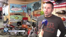 Les bikers rendent hommage à Johnny Hallyday