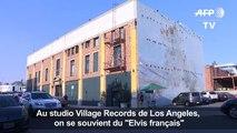 """Le studio de Johnny aux USA rend hommage au """"Elvis français"""""""