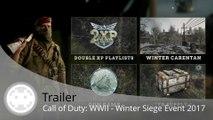 Trailer - Call of Duty: WWII - Gun Game et Events de Noël 2017 !