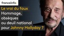 Hommage, obsèques ou deuil national pour Johnny Hallyday ?