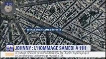 Hommage à Johnny samedi : ce qui est prévu samedi matin à Paris