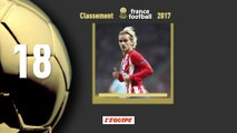 Foot - Ballon d'Or 2017 : Antoine Griezmann 18e