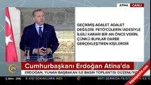 Çipras Lozan konusunda rest çekmek isteyince Erdoğan'dan cevap gecikmedi: Lozan sadece Ege mi?