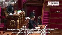 François Ruffin met un maillot de foot à l'Assemblée et se fait rappeler à l'ordre