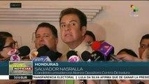 Honduras: Nasralla pide que tribunal internacional revise 18 mil actas