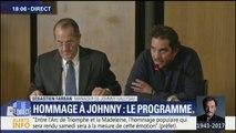 """Hommage à Johnny: """"Le cortège partira à 12h00 de la place de l'Etoile"""", a déclaré Sébastien Farran"""