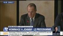 """Hommage populaire à Johnny: """"Près de 1.500 policiers et gendarmes seront mobilisés"""", déclare le préfet de police"""