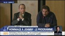 """Hommage à Johnny: Un concert avec les """"musiciens de Johnny"""" aura lieu """"devant l'église de la Madeleine"""", a expliqué Sébastien Farran"""
