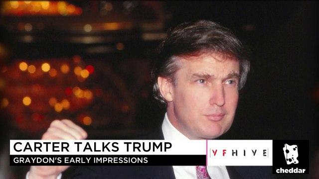 Graydon Carter Talks Long-Term Feud With President Donald Trump