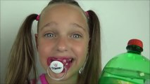 Toy Freaks - Freak Family Vlogs - Bad Kids 7up Soda Cake Challenge Bad Kids Victoria Annabelle Sisters Orange Crush Toy Freaks
