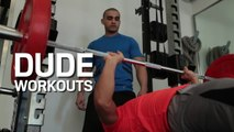 The upper-body push/lower-body pull workout