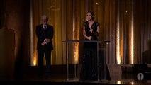 Angelina Jolie receives the Jean Hersholt Humanitarian Award at the Governors Awards