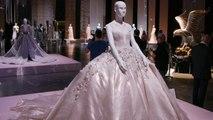 فساتين سهرة غير مسبوقة في معرض Swarovski Sparkling Couture بدبي