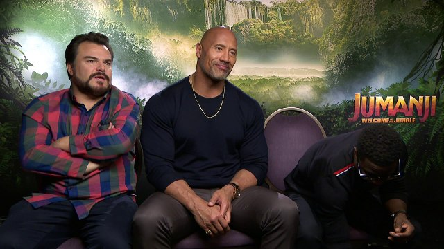Jack Black thinks the Rock would eat bugs