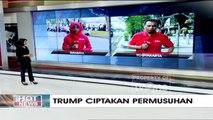 Massa dari Berbagai Elemen Umat Muslim di Yogyakarta Berunjuk Rasa terkait Pernyataan Donald Trump