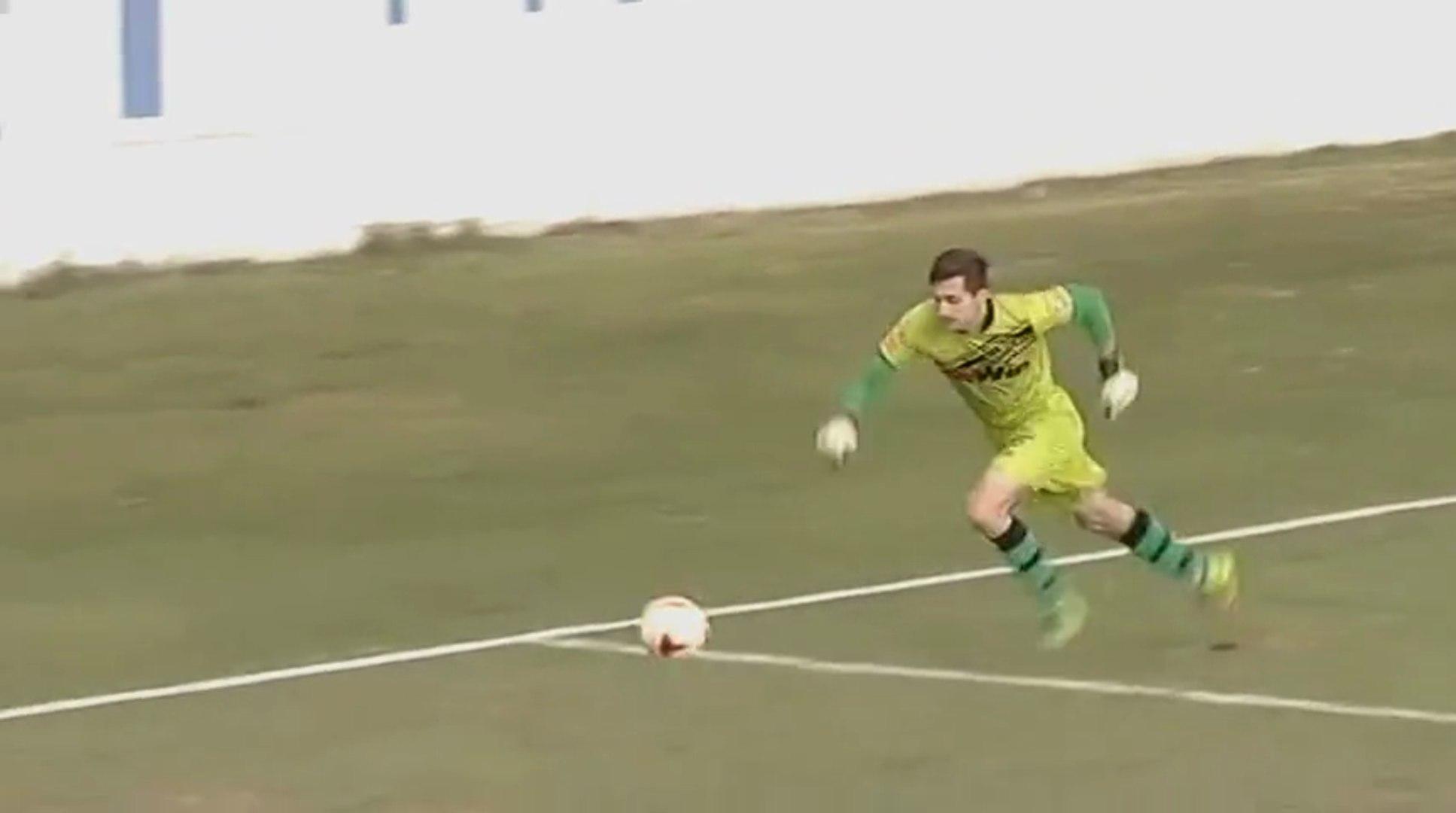 NK GOŠK - FK Sloboda / 2:0 Sušić , greška golmana Hadžića