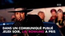 Johnny Depp accusé de violences conjugales : J.K. Rowling prend sa défense