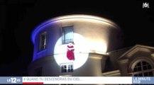 Le Père Noël fait une chute de plusieurs mètres à Clamart - ZAPPING ACTU HEBDO DU 09/12/2017
