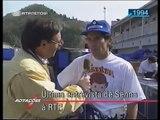 Ayrton Senna numa das suas últimas entrevistas, 16 dias antes da sua morte falava à RTP das deficiências do seu carro qu