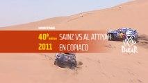 40° edición - N°20 - El duelo Al Attiyah / Sainz - Dakar 2018