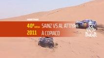 40ème édition - N°20 - Duel Al Attiyah / Sainz à Copiaco - Dakar 2018