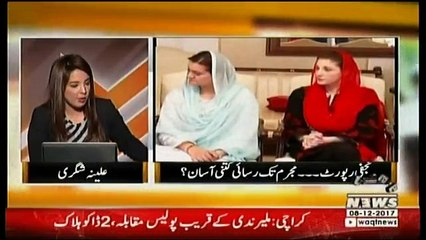 Qazi Shafique Ur Rehman With Alina Shigri On Waqt News In The Other Side