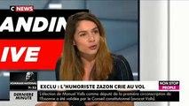 """L'humoriste Zazon accuse une humoriste française de lui voler des sketchs : """"Il y a beaucoup de similitudes !"""""""