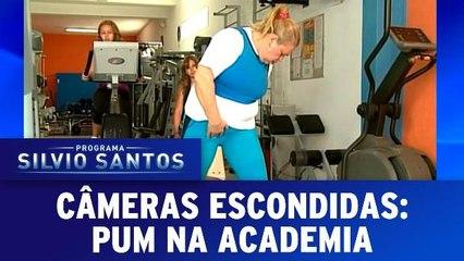 Câmeras Escondidas - Pum na Academia