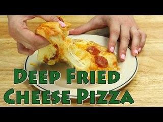 Deep Fryer Recipes: Deep Fried Cheese Pizza   Food Porn