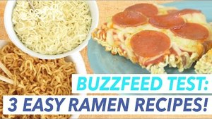 3 Buzzfeed Recipes for Ramen Noodles Put to the Test | Buzzfeed Food Tested!