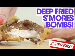 Deep Fried S'mores Bomb Recipe   Kitchen Camping