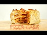 Easy Dinner Recipes: How to Make Pizza Cake | Food Porn
